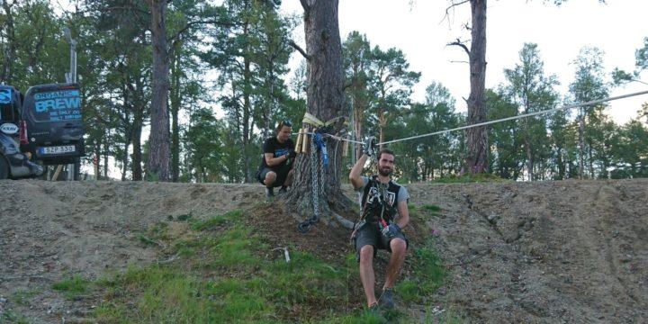 Zipline med Orbaden Zip & Climb